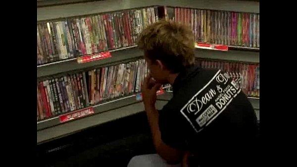 Jesse and Elija Visit Porn Shop
