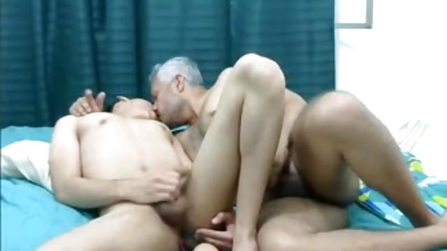 Old & Young Gay Latino Couple