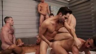 Unforgettable Bareback Orgy (Michael Lucas, Allen King & Others)